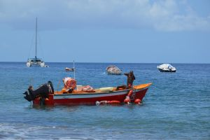 Fishing to Carbet Bay in Martinique by A1Z2E3R