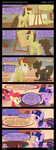 Twilight and Apple Bloom in ''Three Style'' by DiegoTan