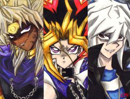 The 3 YAMIS...gimme darknessXD by CupidYamiVolta
