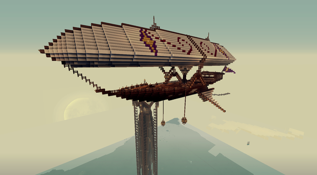 Minecraft Private Airship by CW390