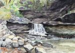 McCormick's Creek Waterfall by bookstoresue