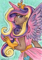 ACEO Princess Cadance by nickyflamingo