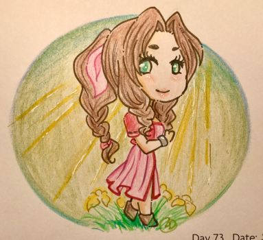 Day 73: Flower Girl by LaPetitLapearl