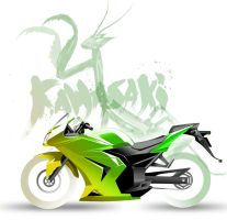Kawasaki by AsianInk