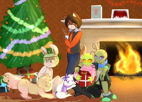 Adopted for Christmas by IrkenProperty