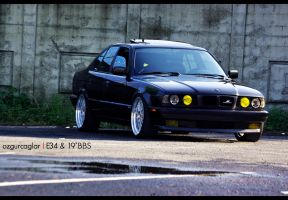 "E34 on 19""BBS - 11 by rugzoo"