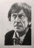 Drawing Doctor Who Project- Patrick Troughton by Atarial