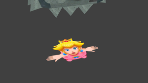 Peach Thwomped...Again by ObserveroftheLost