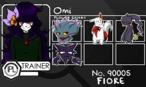 Trainer card - Omi by Akatsukicerberus