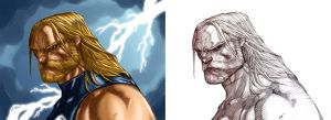 Madureira's Thor Tryout by StriderDen