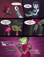 Invader Zim: Conqueror of Nightmare Page 23 by Blhite