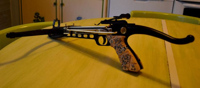 crossbow painted by me by Killy-ad