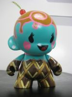 Ice Cream Munny frontside by CutlassFury