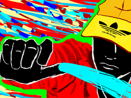Adidas Paint it OUT 3 by animehershey