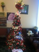 Christmas Tree in a Beauty Salon by Mike-The-Winner