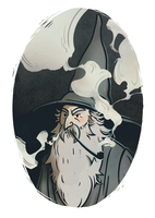 Gandalf the Grey by Asiaglocke