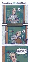 Real Life at 221b Baker Street by katzille