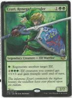 MTG Card Altered Ezuri, Renegade Leader as Link by ZeyoZx