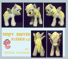 Derpy Hooves Plushie v.2 by nooby-banana