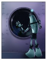 Space Robot 5 by MyDyingRose