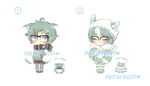 Points/Paypal Kemonomimi Auction 9: [CLOSED] by ArtsyAica