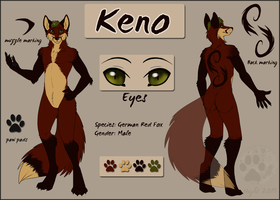 Keno- reference sheet- commission by NightTwilightWolf