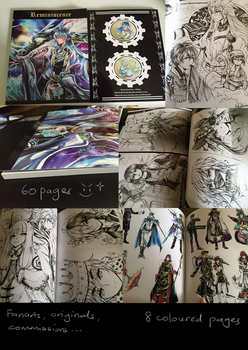 Reminiscence Artbook (clear stock) by shrimpHEBY