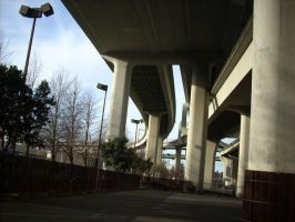 Overpass 07 by sand-stock