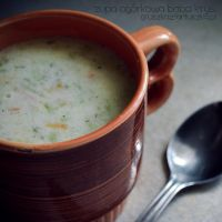 cucumber soup made by grandmother Kristina by Pokakulka