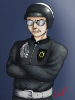 The Lego Movie: Bad Cop by Zats-art