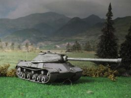 Papercraft IS-3 by Baryonyx62