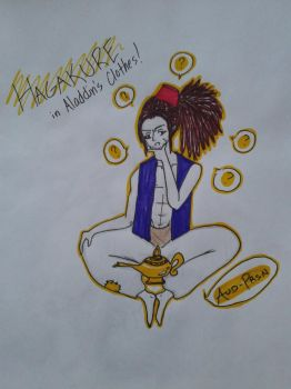 Hagakure in Aladdin's Clothes [Request #2] by Aud-Prsn