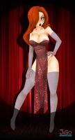 Jessica Rabbit Take it off by JagoDibuja