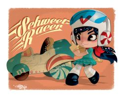 Schweetz Racer *Wreck it Ralph* by KWESTONE