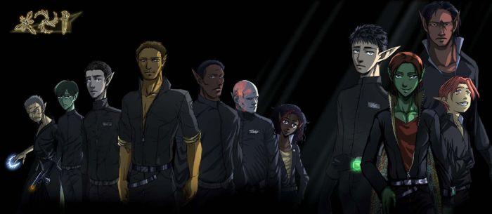 Heroes and dregs of the LEP by Axxonu