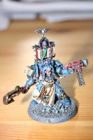 Ultramarine Scriptor in Terminator Armor by Dark-Dreaming