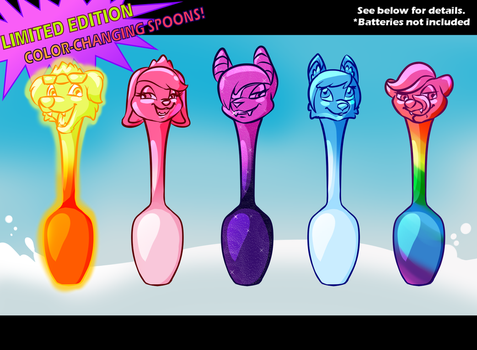 COLOR-CHANGING SPOONS! GET YOURS TODAY! by Lyritwolf