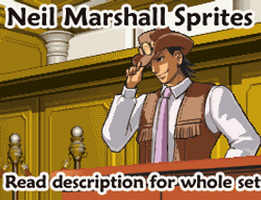 Neil Marshall Sprites by spacecoyote