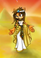 AT: Sahara the Hedgehog Pharoh by Jade-the-Tiger