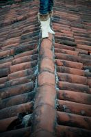 walking on the roof by zapatoverde