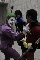 Robin - Arkham Breakout! Feat. Nightwing and Joker by DashingTonyLima