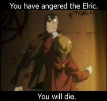 The Elric is Angry by VampireCow