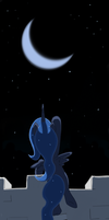 ink - reach for the moon by zlack3r