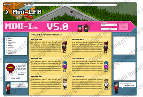 Habbo Fansite Layout by simon-x