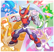 Rockman ZXA by Tomycase