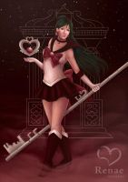 Sailor Pluto by radiant-suzuka
