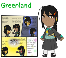 Elementary AU Entry - Greenland by poi-rozen