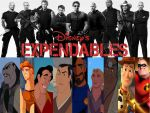 The Expendables: Disney Fanmake by MyNameIsArchie