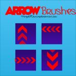Arrow brushes by ThingsOfDestiny