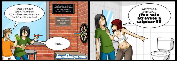 Living With Hipstergirl And Gamergirl-181 by JagoDibuja